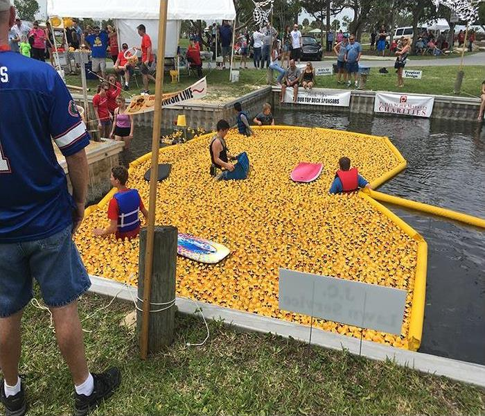 SERVPRO Supports The Great Brevard Duck Race