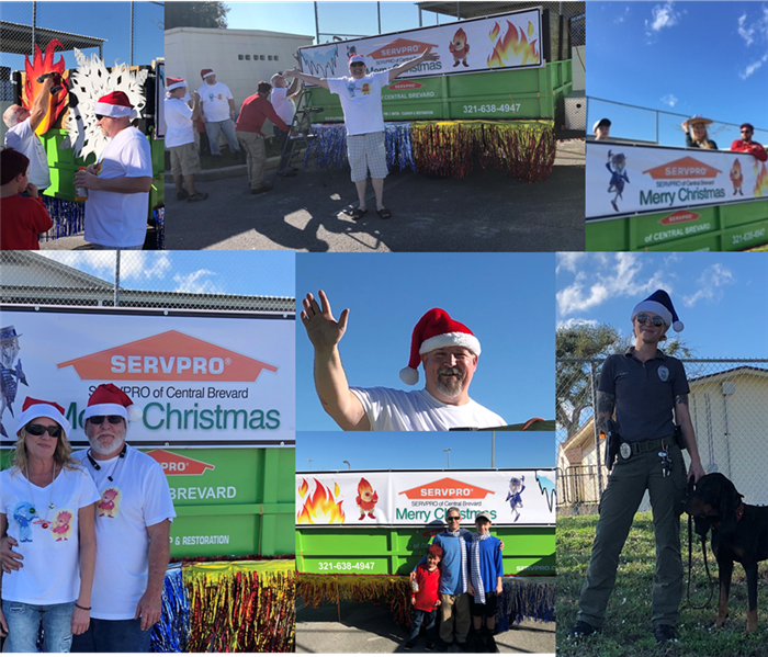 SERVPRO of Central Brevard at the Rockledge/Cocoa Christmas Parade
