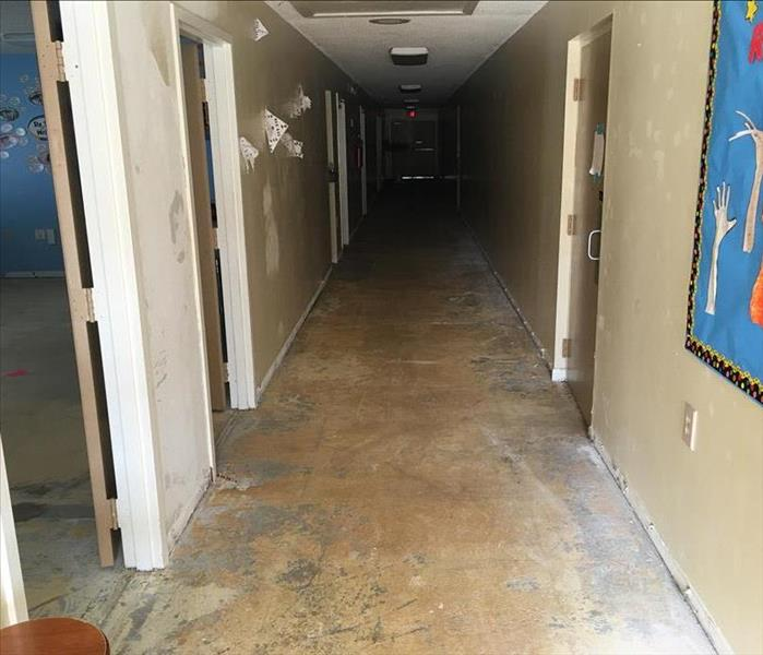 Water Damage at Cocoa Private School