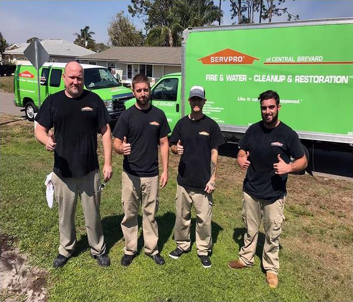 Our Central Brevard Team Is Ready To Help You Recover From Water Damage